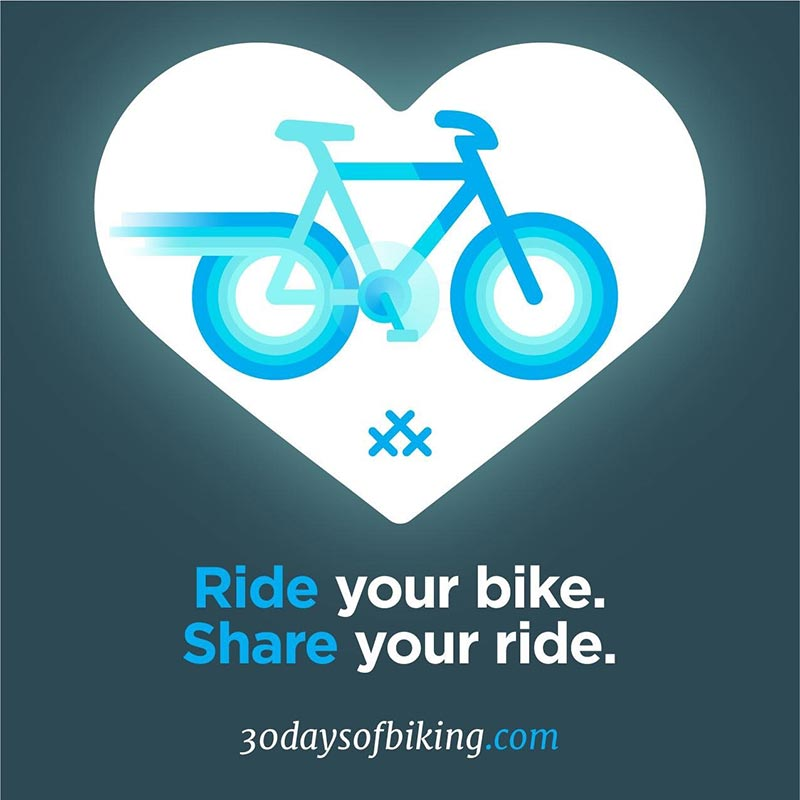 Ride your bike, share your ride
