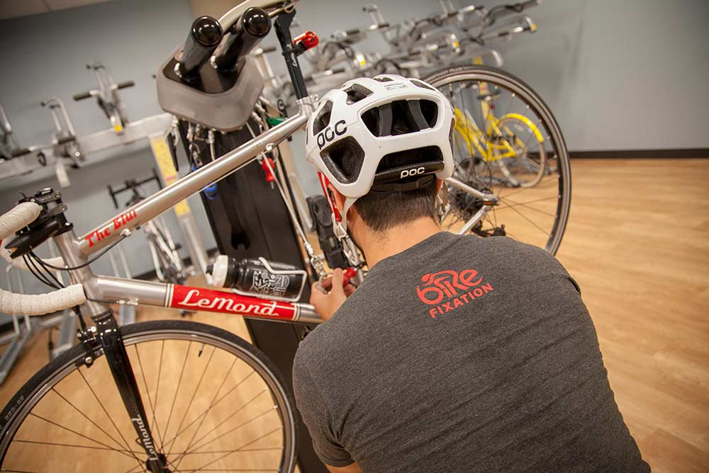 Bike Room Highlight: Exact Sciences in Madison, WI