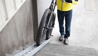 Announcing the Bicycle Access Ramp: A Stairway for Your Bike