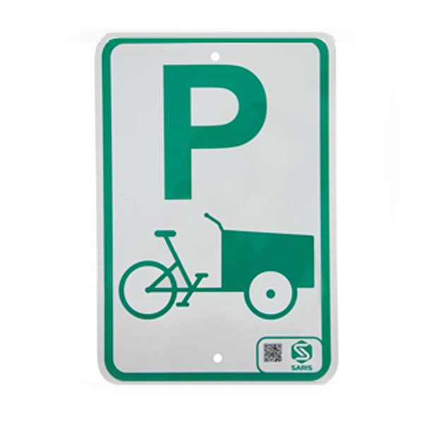 Cargo Bike Parking Sign