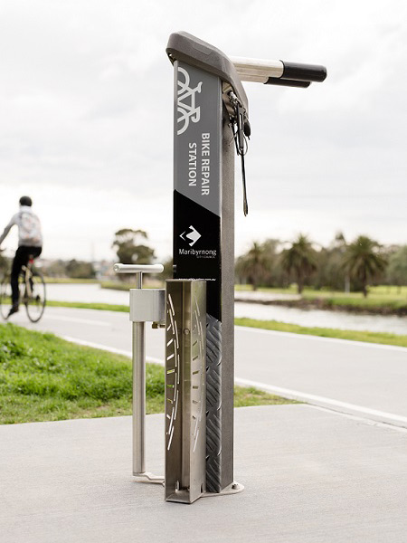 Bike Repair Station - Pipemarker's Park