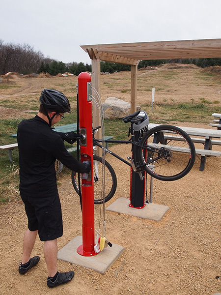 Wash Fill Station - Cottage Grove Bike Park