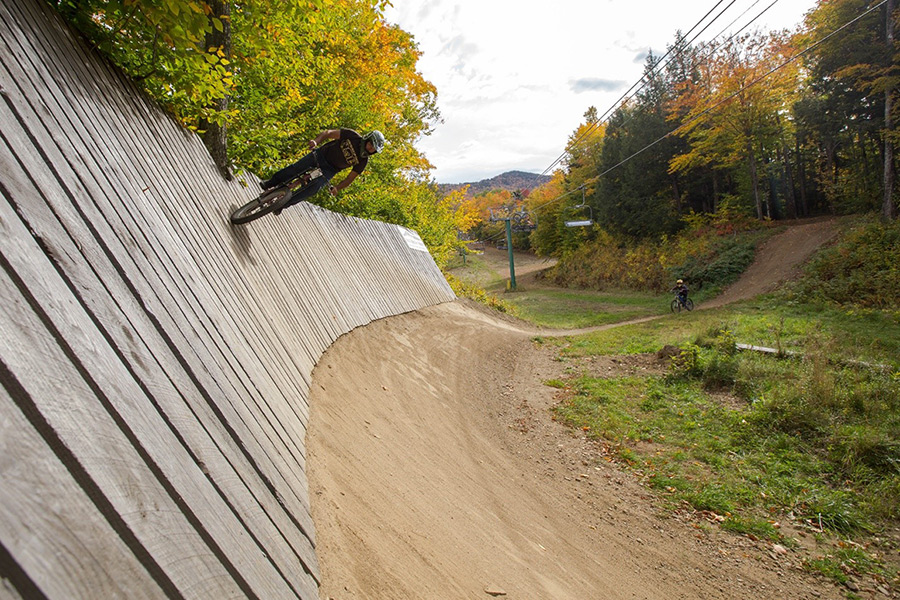 Burke, Vermont has some incredible mountain biking in the non-winter months
