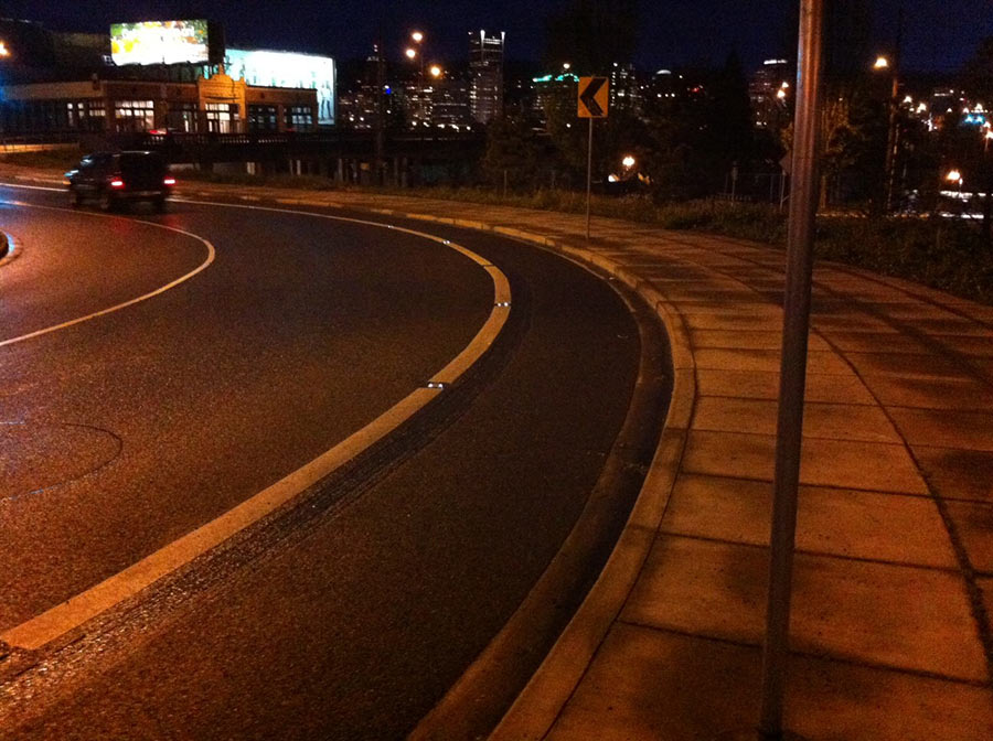 Bike-friendly streets of Portland, Oregon