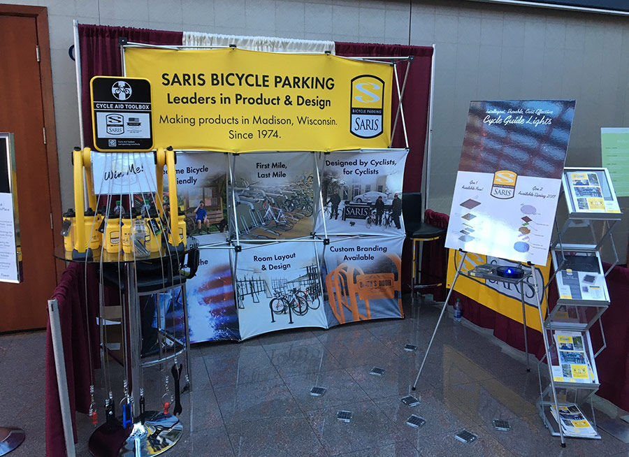 Our booth at ProWalk ProBike and ProPlace 2016, Vancouver, BC, Canada