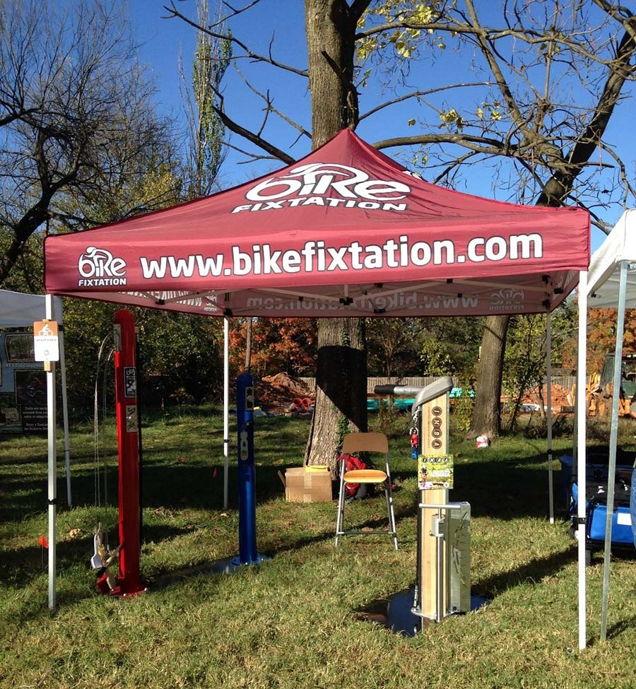 Bike repair stand by Bike Fixtation