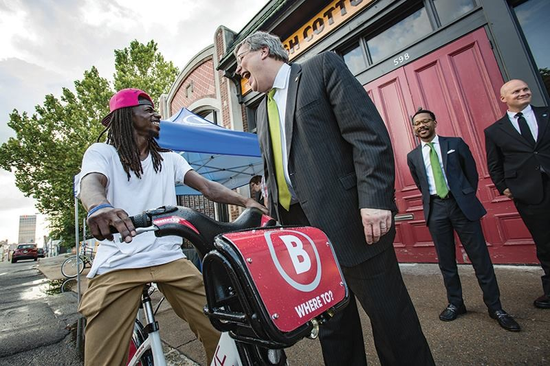 Birth of a Bike Share: Memphis