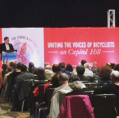 Attending the National Bike Summit is an experience like no other