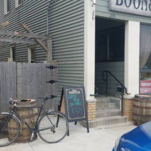 Businesses Vie for Free Bike Parking