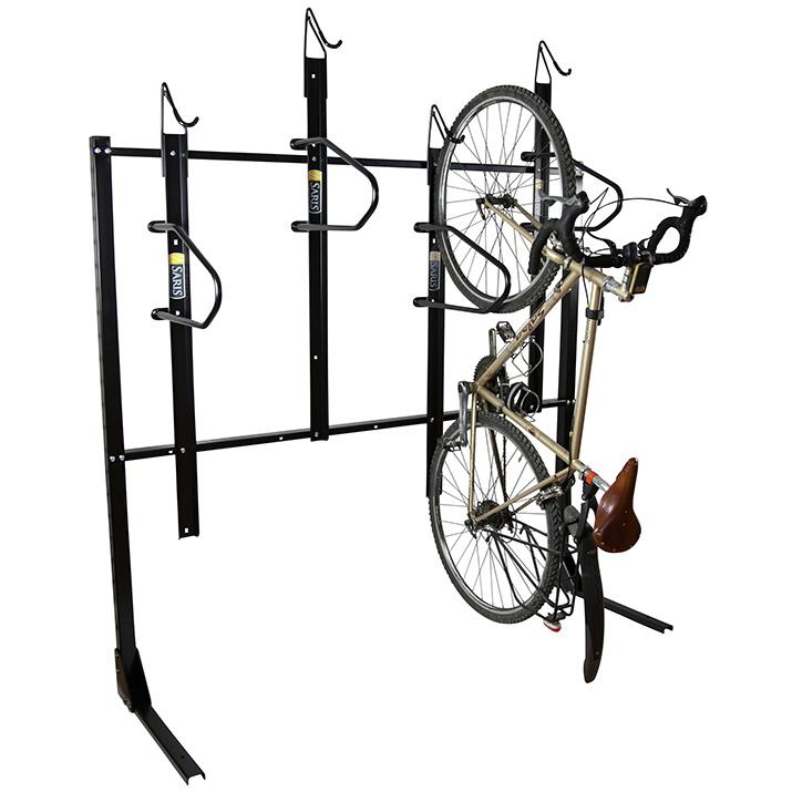 Vertical Bike Storage Rack Bike Fixation